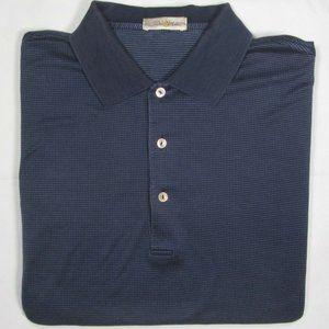 PETER MILLAR ~ 100% Cotton Polo Golf Shirt ~ Men's